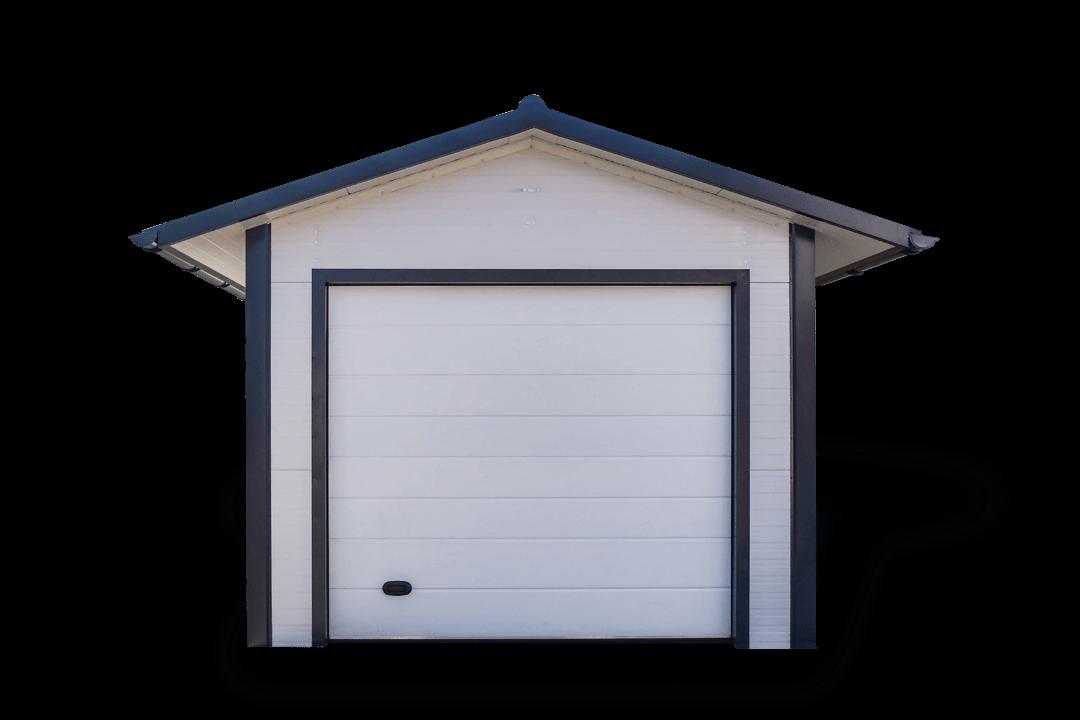 ST 18 könnyűszerkezetes szimpla mobil garázs