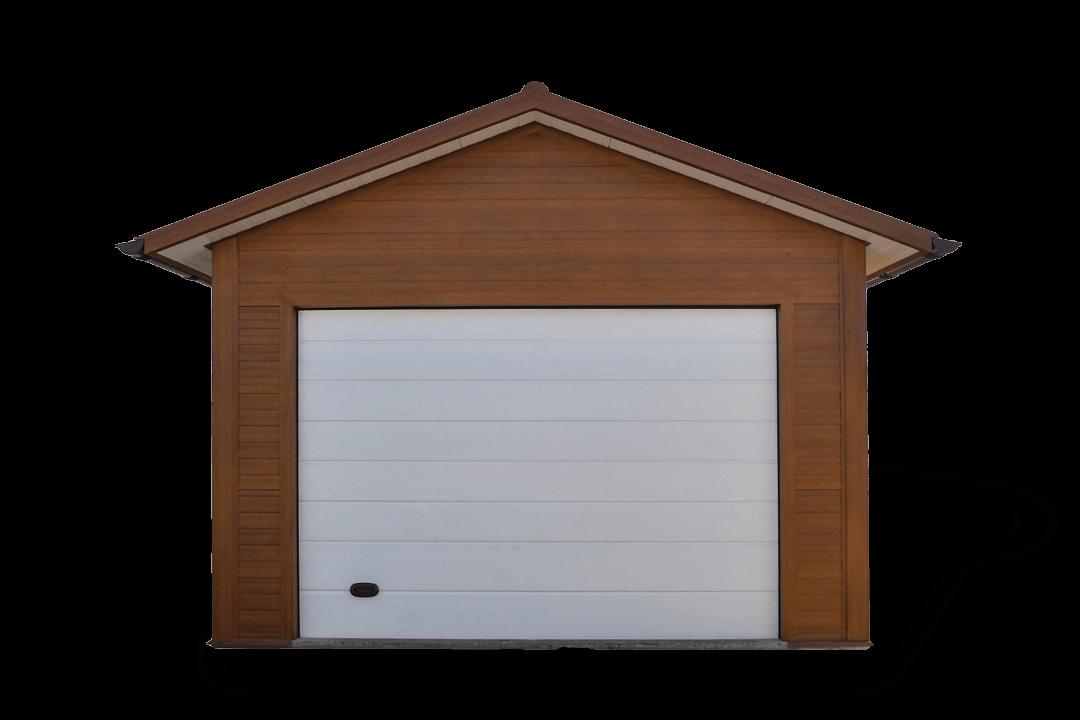 ST 25 könnyűszerkezetes dupla mobil garázs